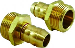 4/3 gas fittings