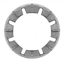 Windproof cast iron grates (silver color)