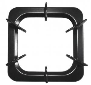 Aluminum square oven rack (height and low / 2 entry)